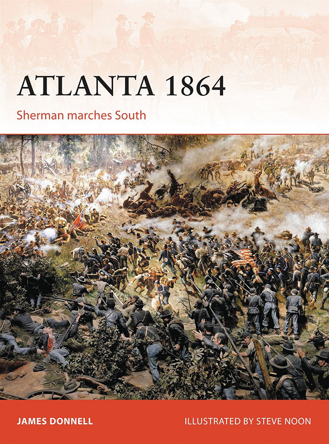 Atlanta 1864: Sherman Marches South Box Front