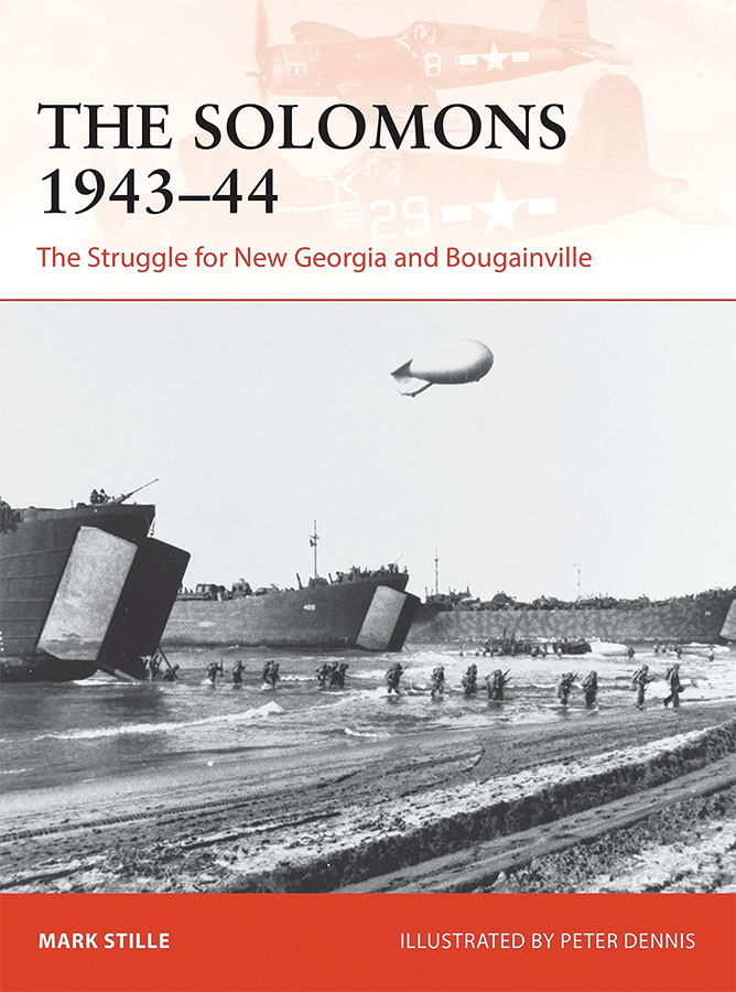Solomons 1943-44: The Struggle For New Georgia And Bougainville Game Box