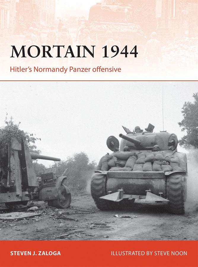 Mortain 1944: Hitler`s Normandy Panzer Offensive Game Box
