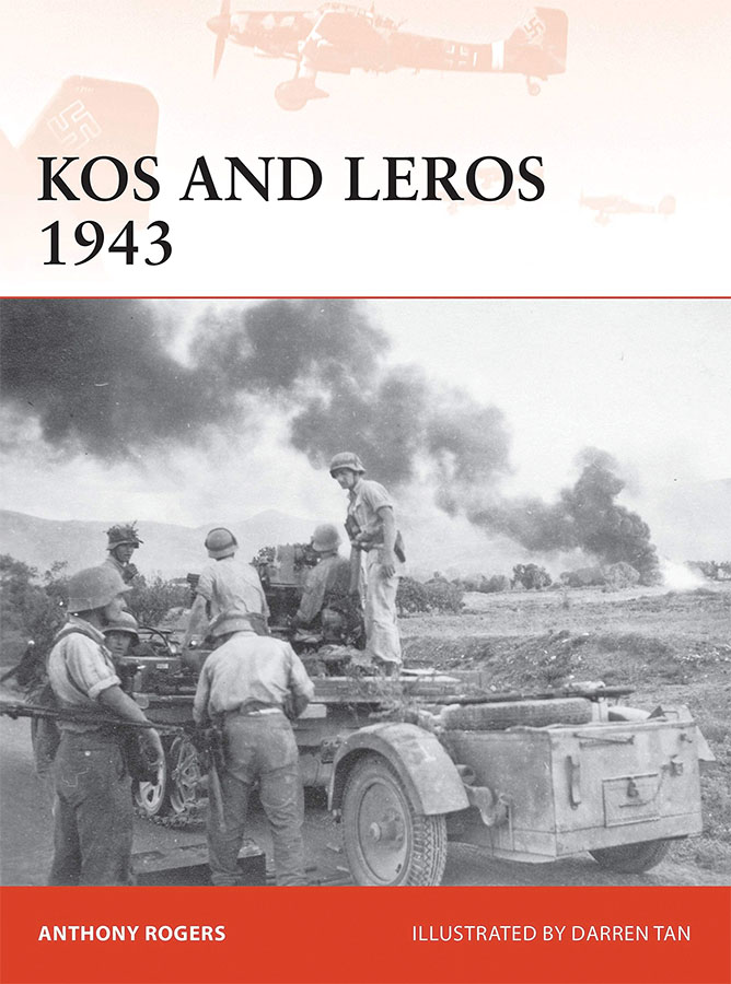 Kos And Leros 1943 Game Box