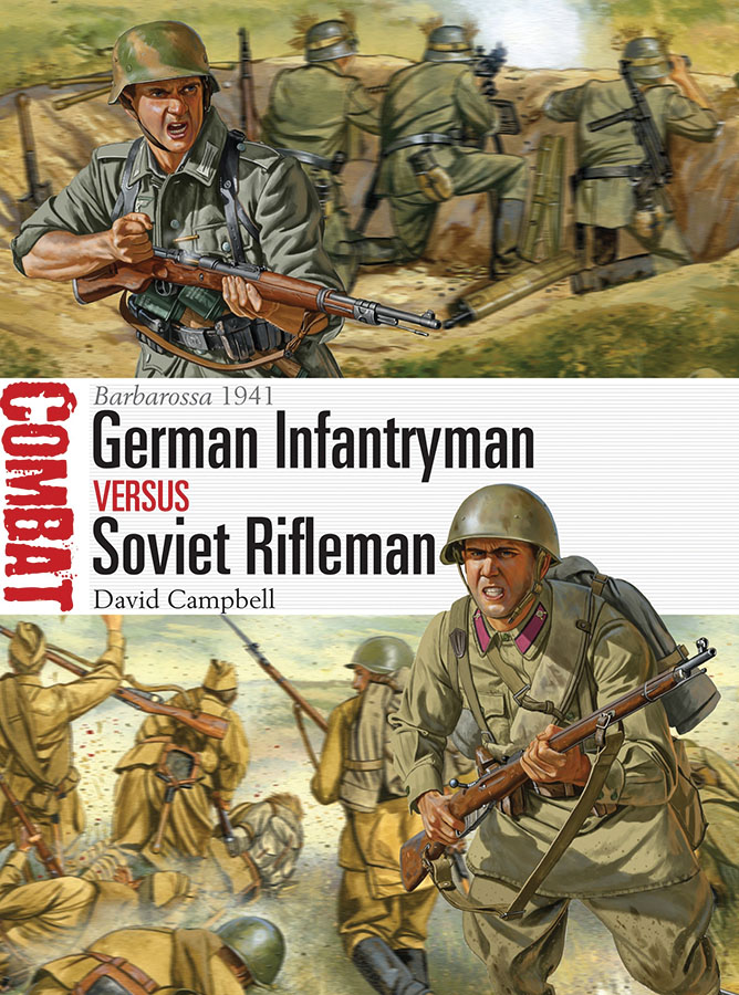 German Vs Russian Infantry Box Front
