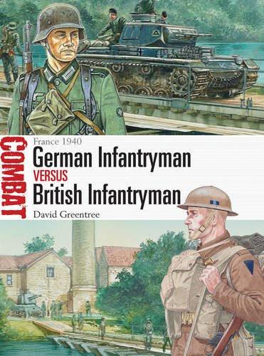 German Infantryman Vs Britain Infantryman - France 1940 Box Front
