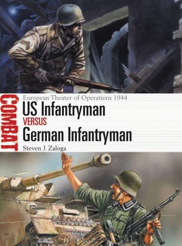 Us Infantryman Vs German Infantryman: European Theater Of Operations 1944 Box Front