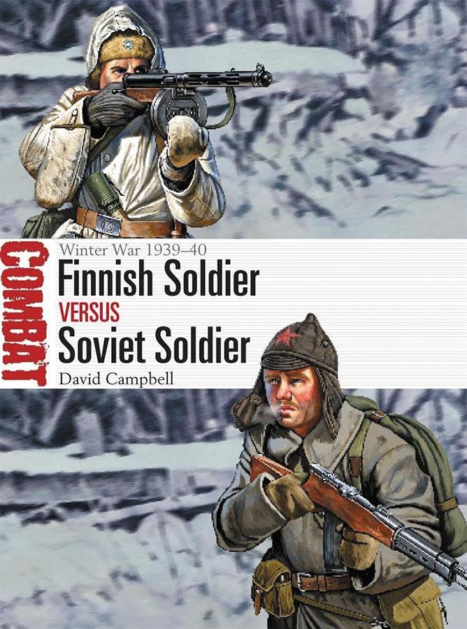 Finnish Soldier Vs Soviet Soldier: Winter War 1939-40 Box Front
