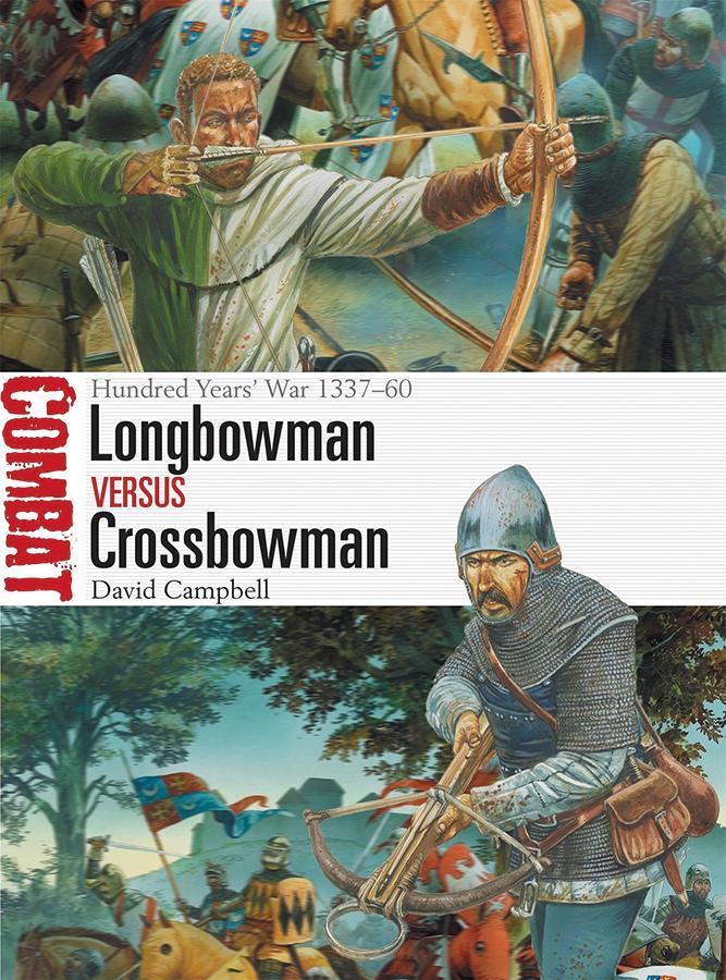Longbowman Vs Crossbowman: Hundred Years War 1337-60 Box Front