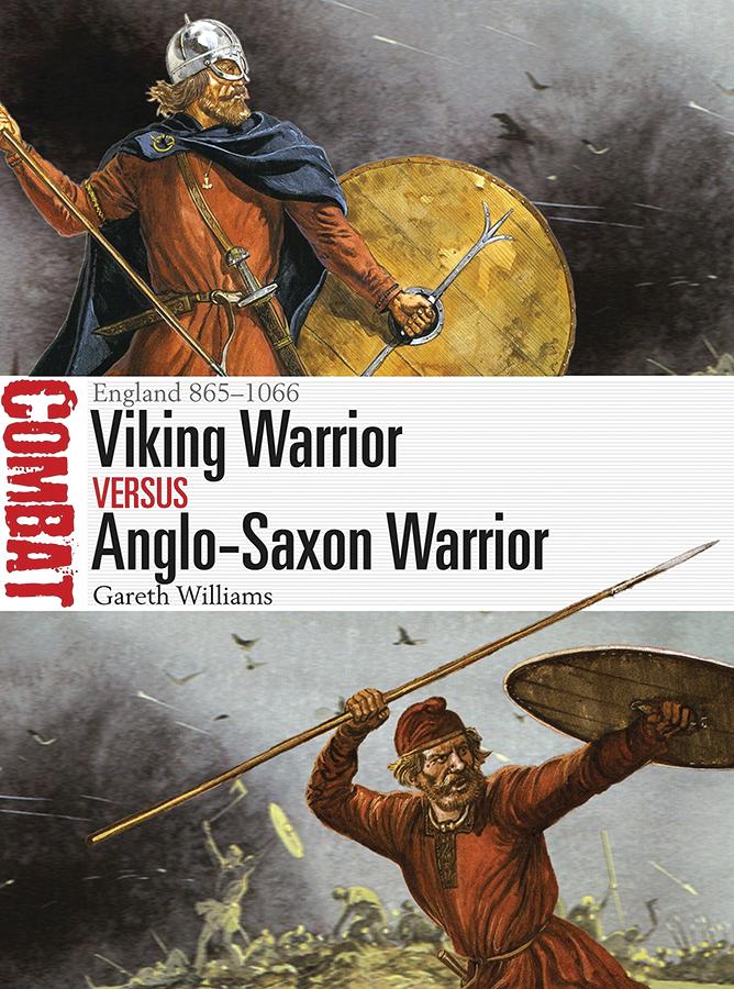 Viking Warrior Vs Anglo-saxon Warrior: England 865-1066 Box Front