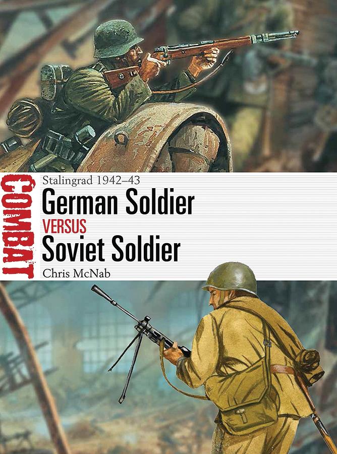 German Soldier Vs Soviet Soldier: Stalingrad 1942-43 Box Front