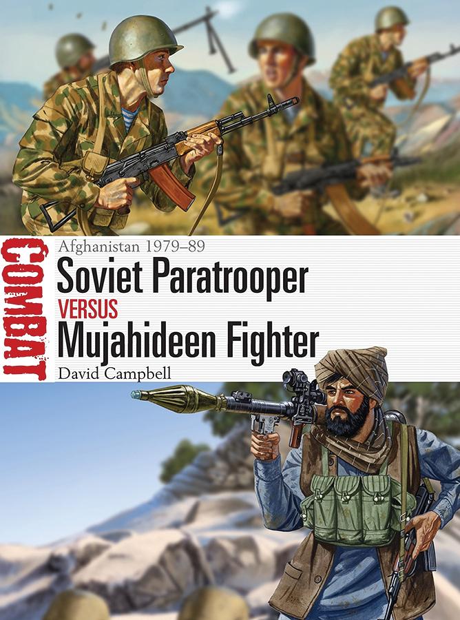 Soviet Paratrooper Vs Mujahideen Fighter: Afghanistan 1979-89 Box Front