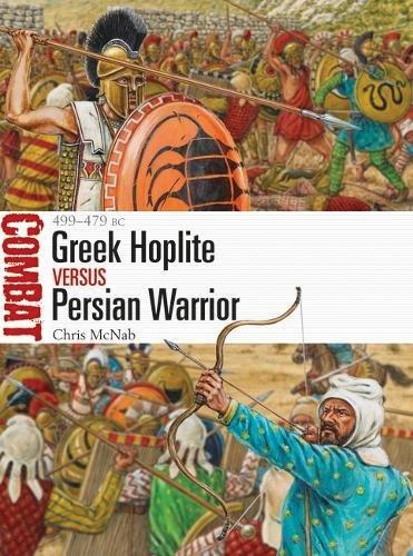 Greek Hoplite Vs Persian Warrior: 499-479 Bc Box Front