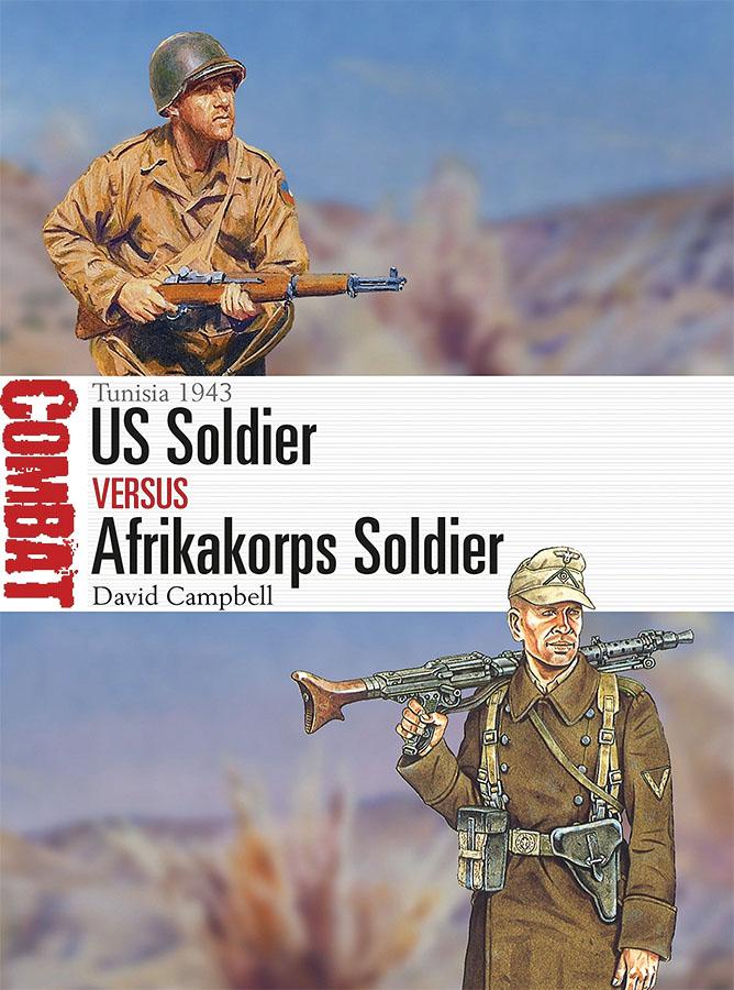 Us Soldier Vs Afrikakorps Soldier: Tunisia 1943 Game Box
