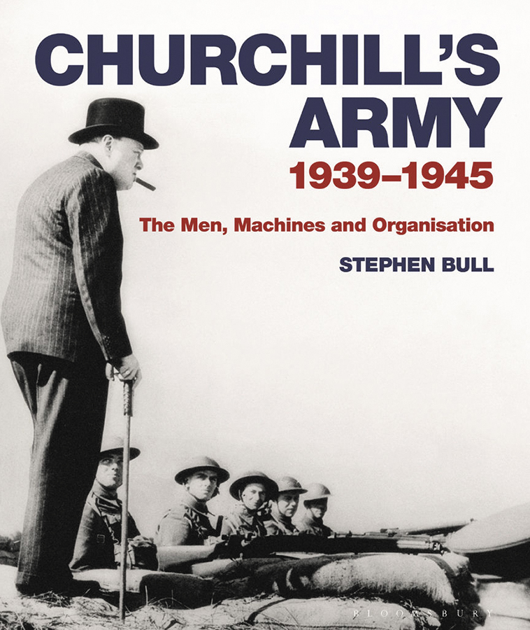 Churchill`s Army: 1939-1945 The Men, Machines And Organization Box Front