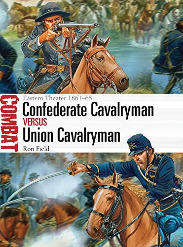 Confederate Cavalryman Vs Union Cavalryman: Eastern Theater 1861-65 Box Front