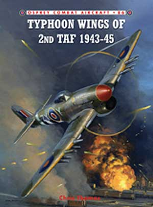 Typhoon Wings 2nd Taf 1943-45 Box Front