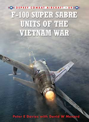 Usaf F-100 Super Saber Vietnam War Box Front