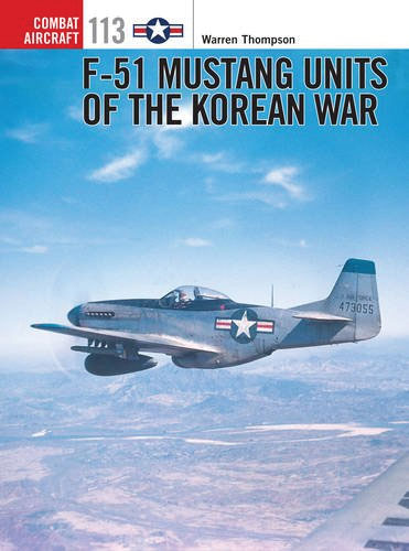 F-51 Mustangs Units Of The Korean War Box Front