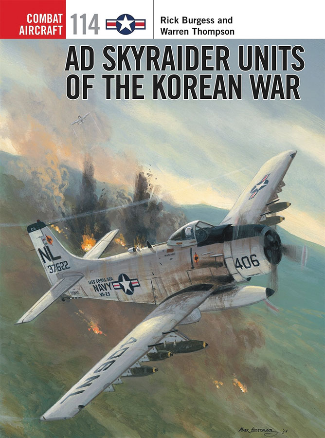 Ad Skyraider Units Of The Korean War Box Front