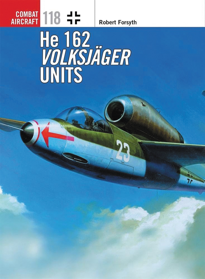 He 162 Volksjager Units Box Front