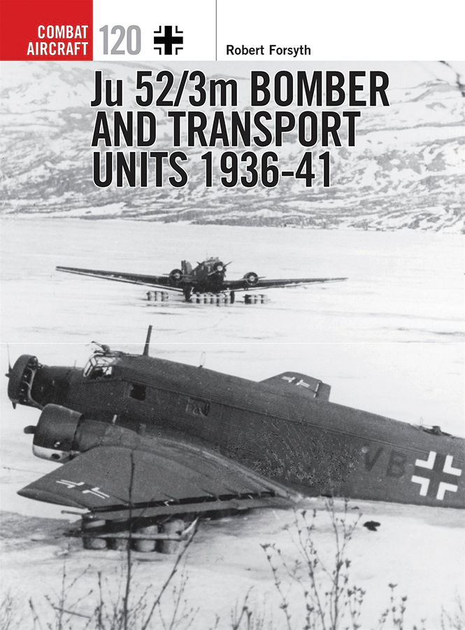 Ju 52 3m Bomber And Transport Units 1936-41 Box Front