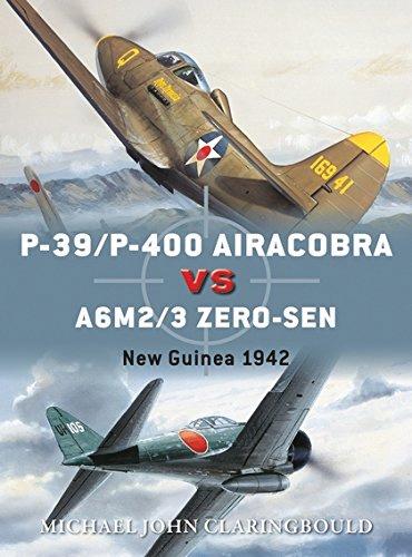 P-39/p-400 Airacobras Vs A6m2/3 Zero-sen: New Guinea 1942 Box Front