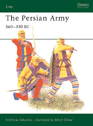 The Persian Army 560-330 Bc Box Front