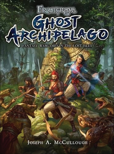Frostgrave: Ghost Archipelago - Fantasy Wargames In The Lost Isles Box Front