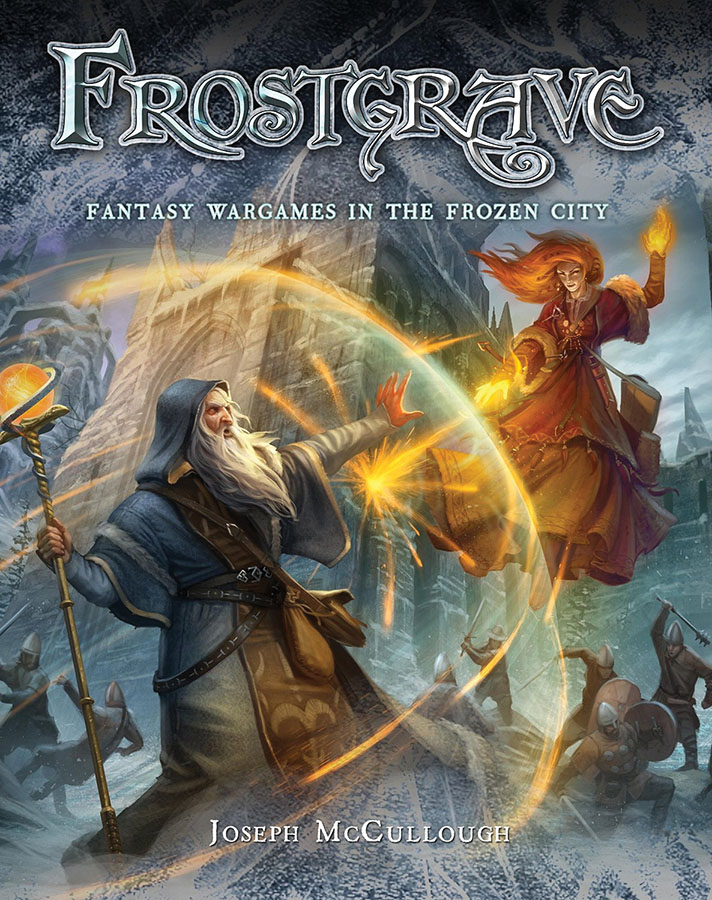Frostgrave: Fantasy Wargames In The Frozen City Box Front