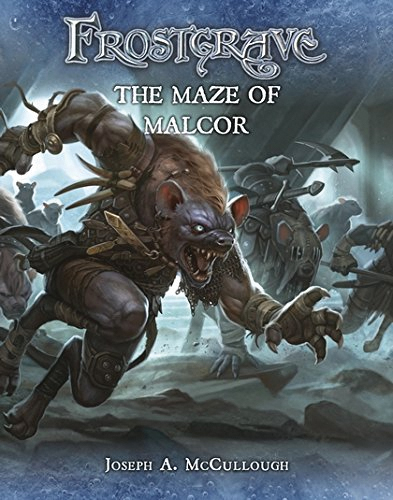 Frostgrave: The Maze Of Malcor Game Box