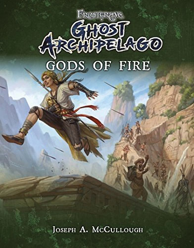 Frostgrave: Ghost Archipelago - Gods Of Fire Game Box