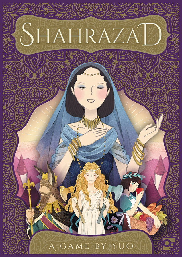 Shahrazad: Stories Unfurl For 1 Or 2 Players Box Front