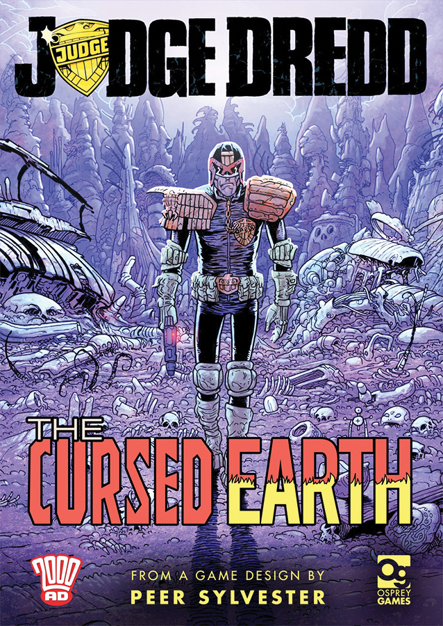 Judge Dredd: The Cursed Earth - An Expedition Game Box Front