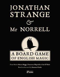 Jonathan Strange And Mr Norell: A Board Game Of English Magick Game Box