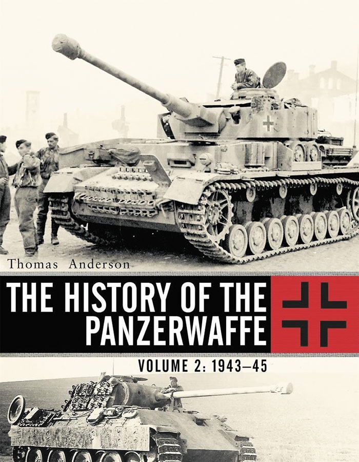 History Of The Panzerwaffe: Volume 2 - 1943-45 Box Front