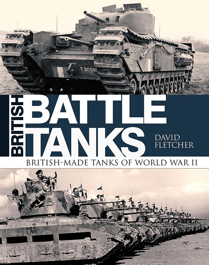 British Battle Tanks: British-made Tanks Of World War Ii Box Front