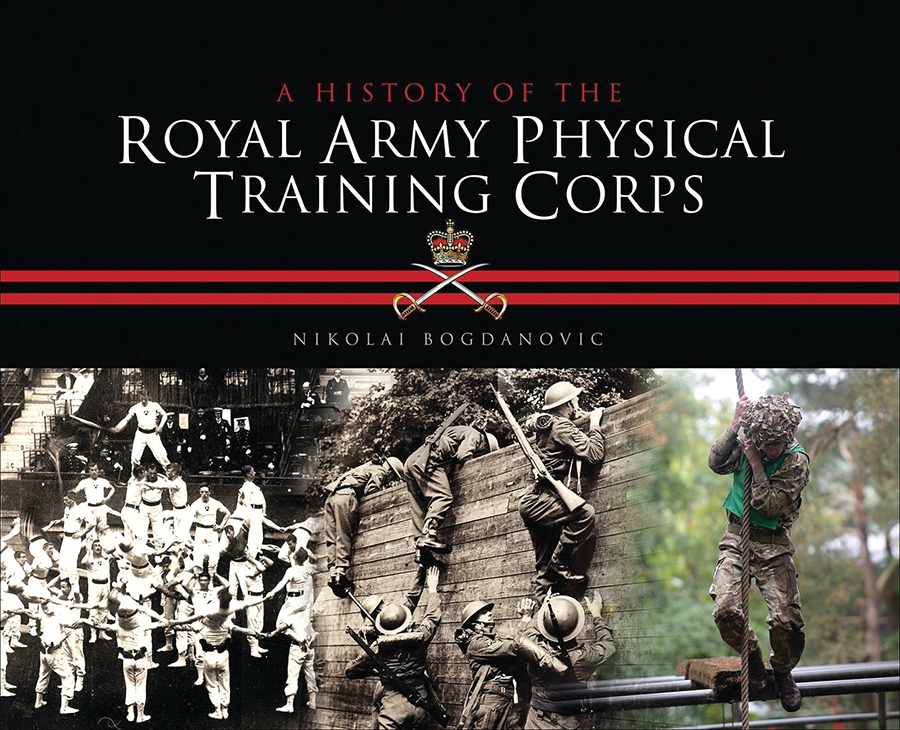 History Of The Royal Army Physical Training Corps Box Front