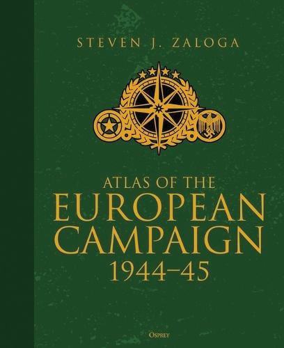 Atlas Of The European Campaign: 1944-45 Box Front