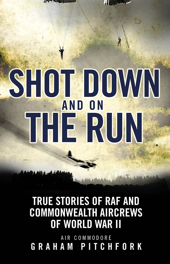 Shot Down And On The Run: True Stories Of Raf And Commonwealth Aircrews Of Wwii Box Front