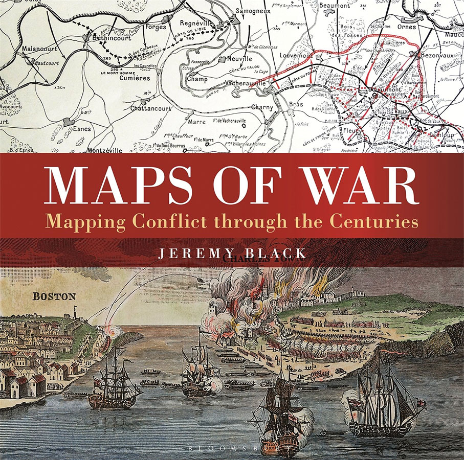 Maps Of War: Mapping Conflict Through The Centuries Game Box