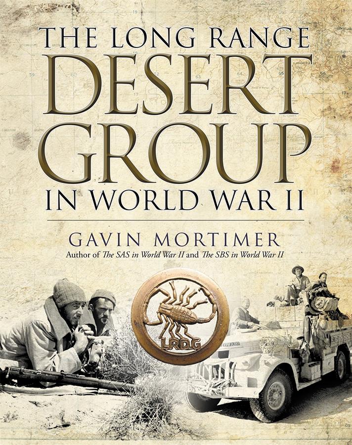 Long Range Desert Group In World War Ii Box Front