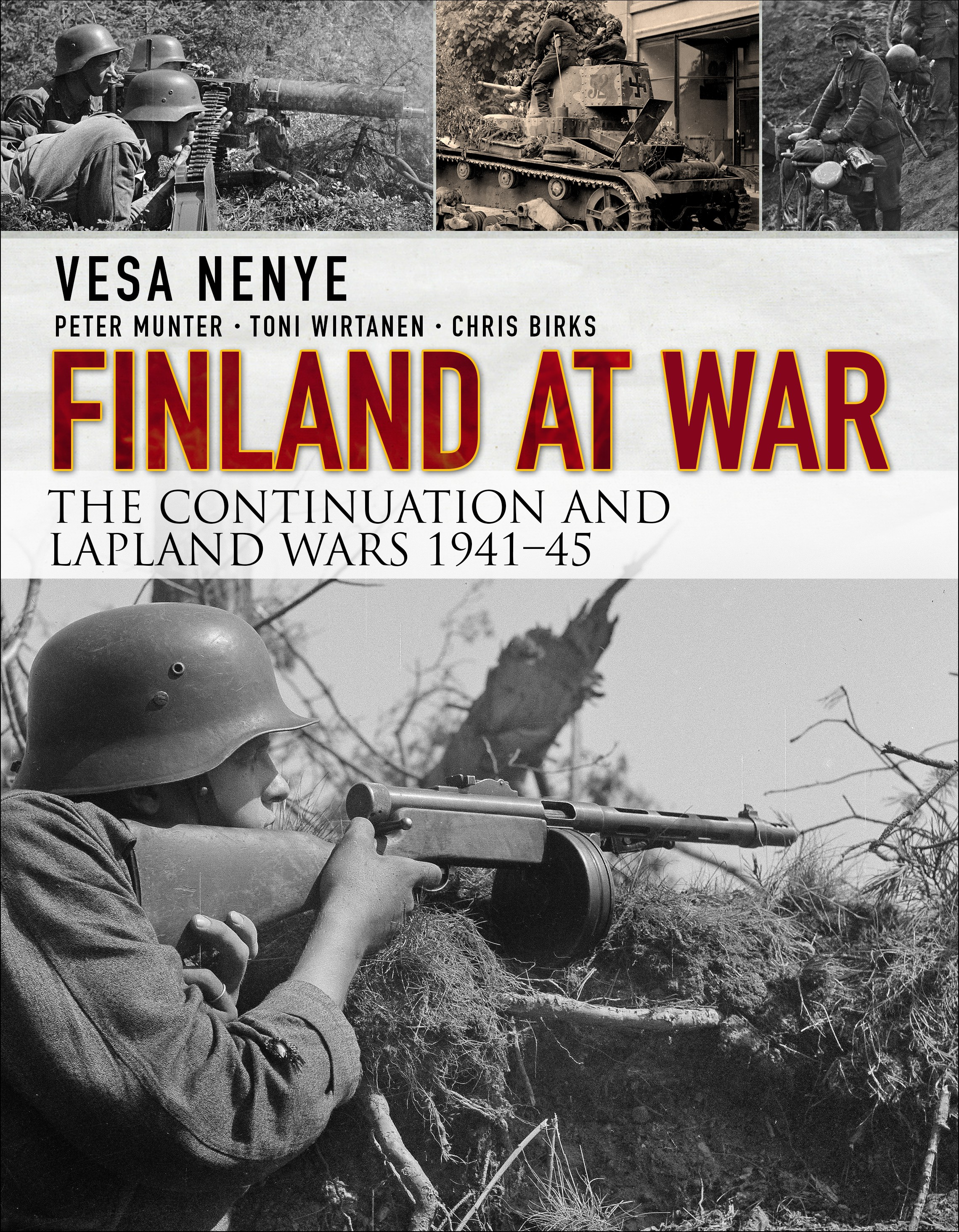 Finland At War: The Continuation And Lapland Wars 194145 Box Front