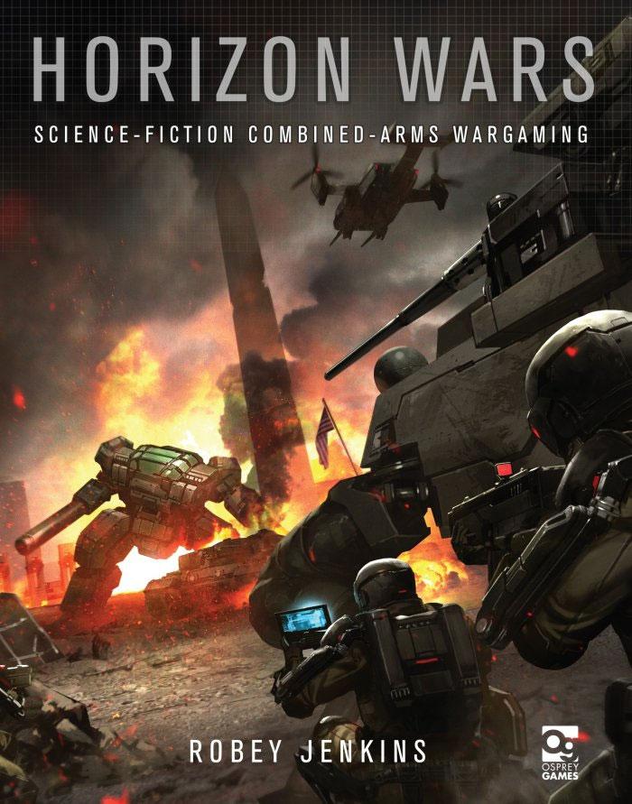 Horizon Wars: 6mm Hard Science-fiction Wargames Box Front