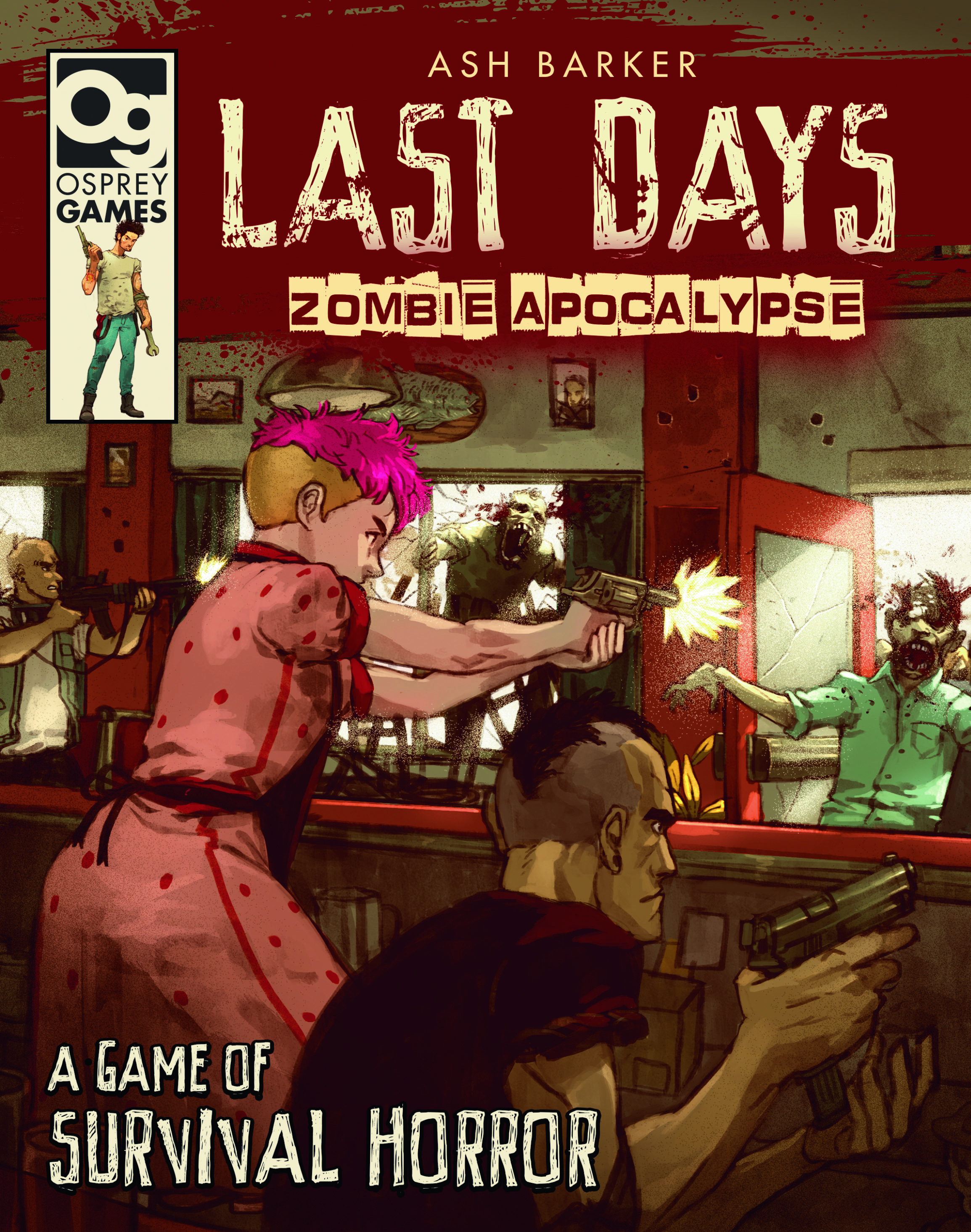 Last Days: Zombie Apocalypse - A Game Of Survival Horror Game Box