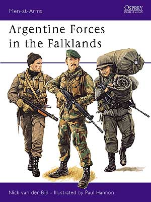 Argentine Forces In The Falklands Box Front