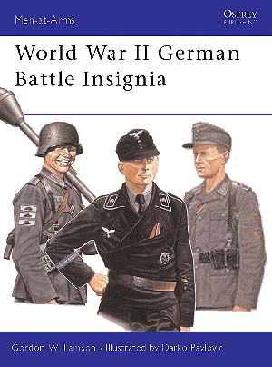 World War Ii German Battle Insignia Box Front