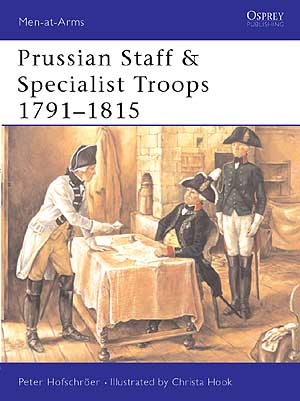 Prussian Staff And Specialist Troops 1791-1815 Box Front