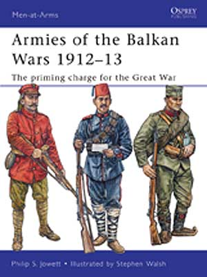 Armies Of The Balkan Wars 1912-13 Box Front