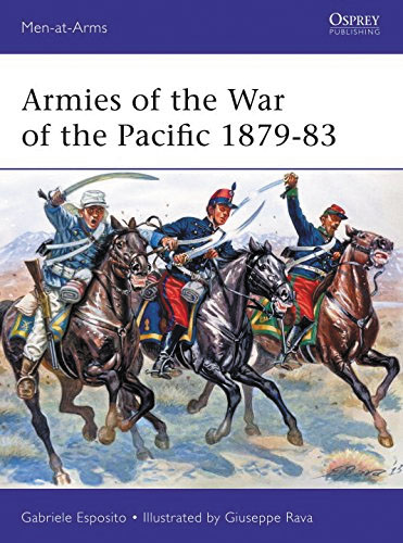 Armies Of The War Of The Pacific 1879-83: Chile, Peru & Bolivia Box Front