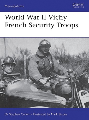 World War Ii Vichy French Security Troops Box Front
