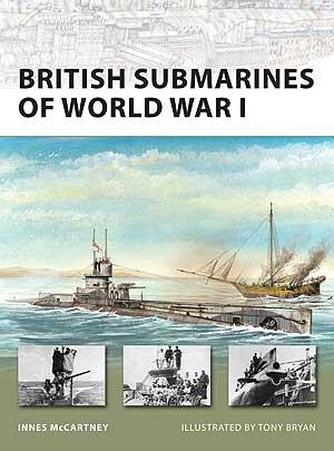 British Submarines Of World War I Box Front