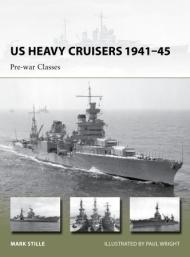 Us Heavy Cruisers 1941-45 - Pre-war Classes Box Front