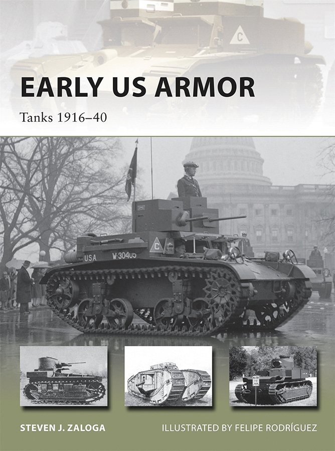 Early Us Armor: Tanks 1916-40 Box Front